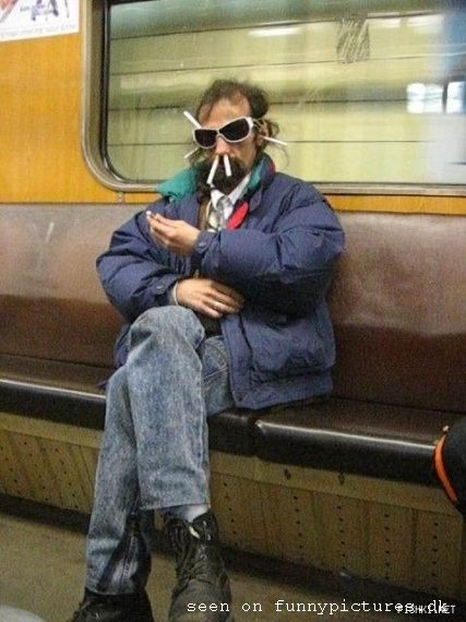 Cigarette man