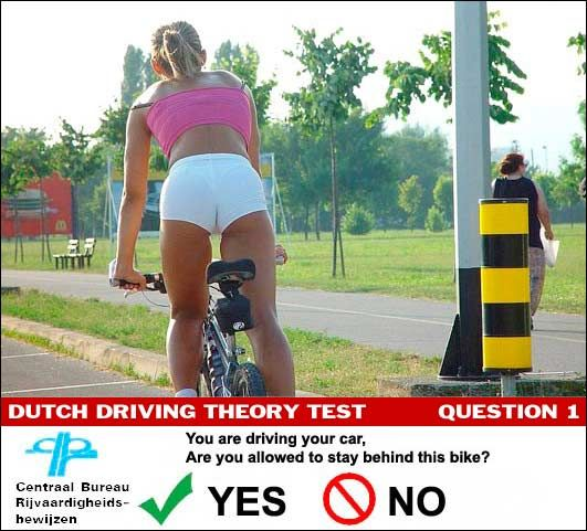 Driving test